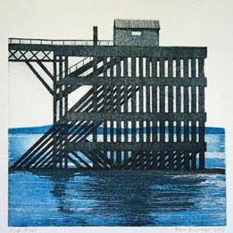 Ol Pier (20 x 20 cm)