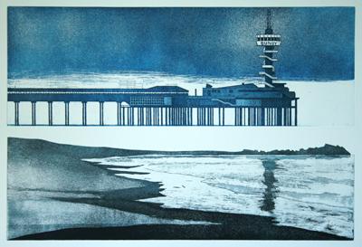 Pier Scheveningen - staat 2 - oplage 10 - 2015