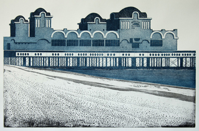 South Parade Pier - 60 x 40 cm - oplage 10 - 2015